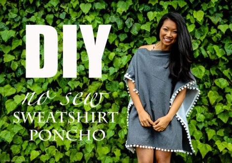 diy-no-sew-sweatshirt-poncho