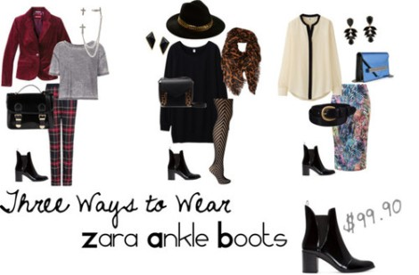 three-ways-to-wear-zara-ankle-boots