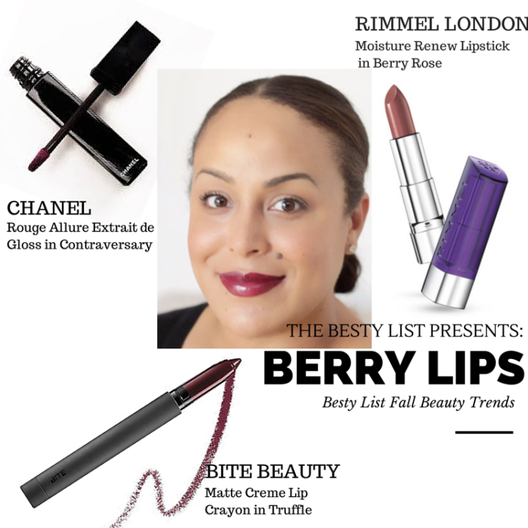FALL TREND: Berry Lips