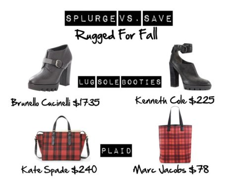 Save VS Splurge: Rugged Fall