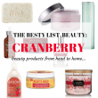The Besty List-Cranberry